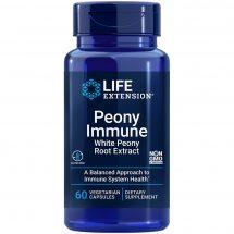 Peony Immune with white peony root extract 60 vegetarian capsules immune system health supplement