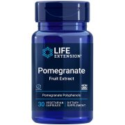 Pomegranate Fruit Extract 30 vegetarian capsules promotes heart & blood pressure health