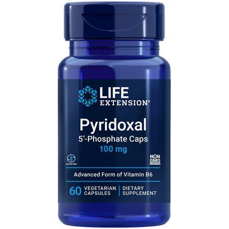 Pyridoxal 5 Phosphate essential B vitamin supports heart, nerve & eye health