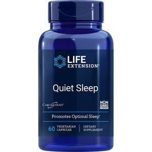 Quiet Sleep with Melatonin life extension supplement