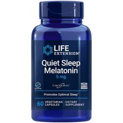 Quiet Sleep Melatonin Promotes optimal sleep with 5 mg of melatonin