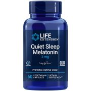 Quiet Sleep, Melatonin 60 vegetarian capsules - Life Extension