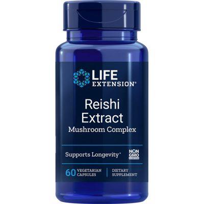 Reishi Extract Mushroom Complex 60 vegetarian capsules
