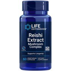 Reishi Extract Mushroom Complex 60 vegetarian capsules for broad spectrum immune support
