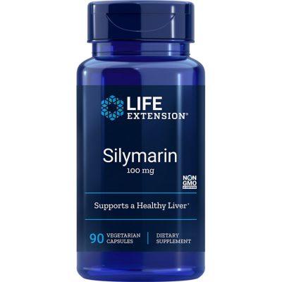 Life Extension Silymarin 100 mg 90 vegetarian capsules