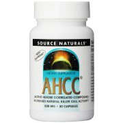 Source Naturals AHCC Active Hexose Correlated Compound 500 mg 30 capsules