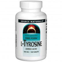 Source Naturals L-Tyrosine 500 mg 100 tablets