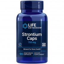 Strontium Caps Life Extensions ultimate nutrient for advanced bone health support