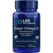 Super Omega-3 EPA/DHA with Sesame Lignans & Olive Extract 60 softgels