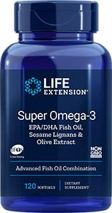 Super Omega-3 with Sesame Lignans & Olive Extract