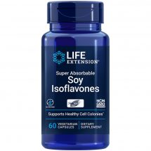 Super Absorbable Soy Isoflavones 60 vegetarian capsules for healthy cell function