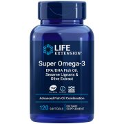 Super Omega-3 with Sesame Lignans & Olive Extract Comprehensive fish oil benefits for heart health, brain & beyond
