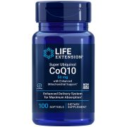Super Ubiquinol CoQ10 with Enhanced Mitochondrial Support 100 softgels