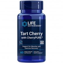 Tart Cherry with CherryPURE 60 capsules for rapid muscle recovery after exercise