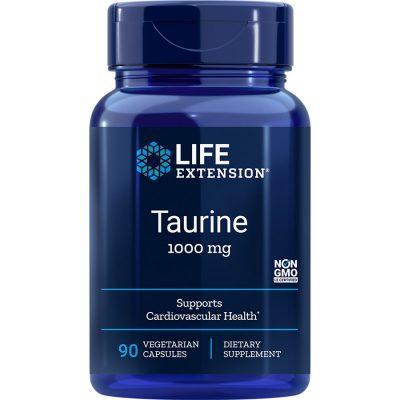 Taurine 1000 mg 90 vegetarian capsules