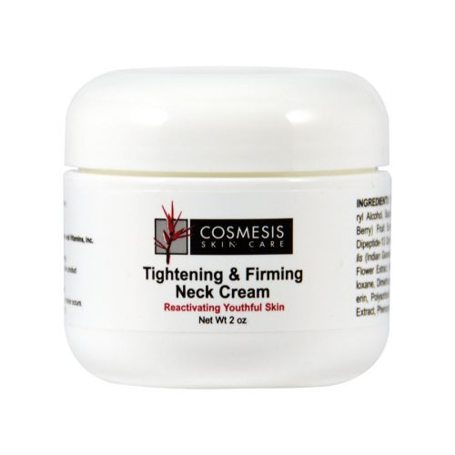 Tightening & Firming Cream protects and strengthens the delicate neck area