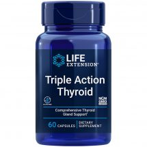 Triple Action Thyroid 60 capsules for comprehensive thyroid support with ashwagandha benefits
