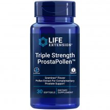 Triple Strength ProstaPollen 30 softgels protect your prostate