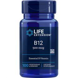Vitamin B12 500 mcg 100 lozenges