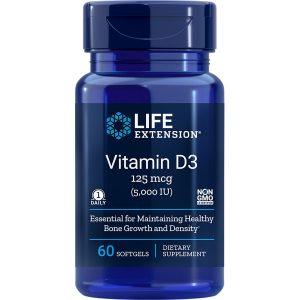 Vitamin D3 5,000 IU 60 softgels