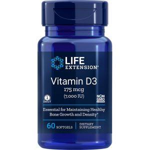 Vitamin D3 7,000 IU 60 softgels