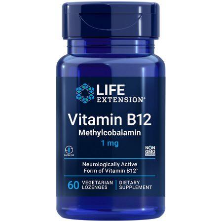 Vitamin B12 Methylcobalamin 60 lozenges for a convenient way to ensure optimal B12 levels