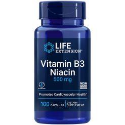 Vitamin B3 Niacin supports cell energy & already-healthy cholesterol levels