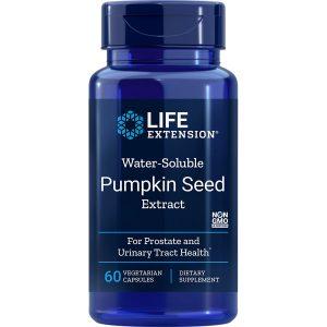 Water Soluble Pumpkin Seed Extract 60 vegetarian capsules