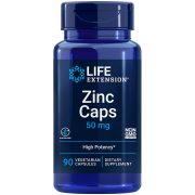 Zinc Caps Life Extension supplement formula supports natural immune defences