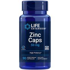 Zinc Caps Life Extension supplement formula supports natural immune defences