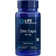 Zinc Caps High Potency 50 mg 90 vegetarian capsules