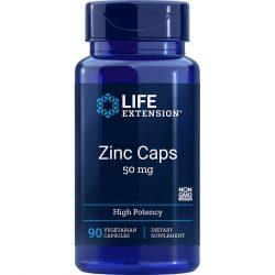 Zinc Caps High Potency 50 mg 90 vegetarian capsules