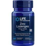 Zinc Lozenges 60 vegetarian lozenges natural citrus orange flavor