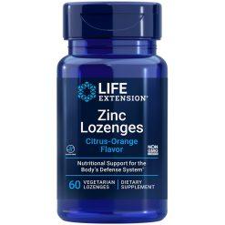 Zinc Lozenges a convenient immune health support lozenges natural citrus orange flavor