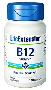 LIFE EXTENSION vitamin B12 lozenges