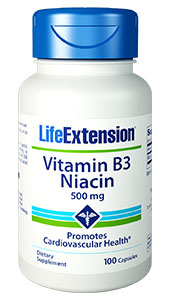 life extension Vitamin B3
