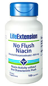 Contains a Special form of Niacin