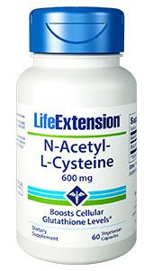 N-Acetyl-L-Cysteine 60 vegetarian capsules
