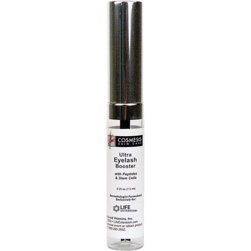 Life Extension Cosmesis skin care Ultra Eyelash Booster 0.25 oz Boosts eyelash growth & thickness