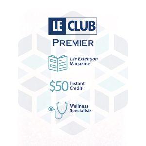 Life Extension Australia's LE Club 12 month subscription premier membership