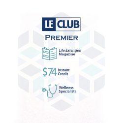 Life Extension LE Club 12 month subscription premier membership