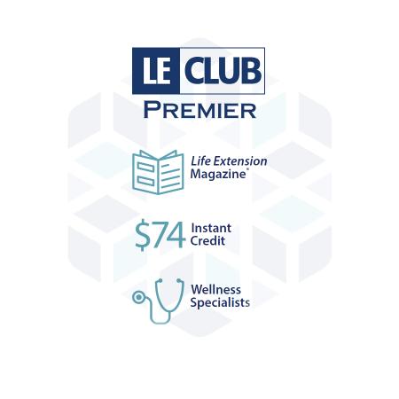 LE Club Life Extension Australia 12 month premier membership subscription