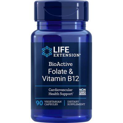 BioActive Folate & Vitamin B12 90 vegetarian capsules