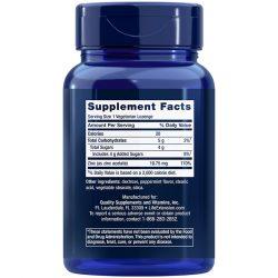 Enhanced Zinc Lozenges, 30 peppermint vegetarian lozenges Supplement Facts