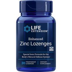 Zinc Lozenges Enhanced 30 peppermint vegetarian lozenges