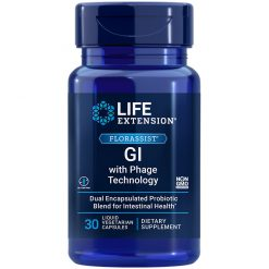 FLORASSIST GI with Phage Technology our best formula for digestive health with probiotic benefits