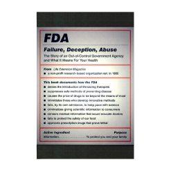 FDA Failure Deception Abuse