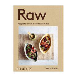 Raw Recipes For A Modern Vegetarian Lifestyle by Solla Eiriksdottir hardcover 240 pp