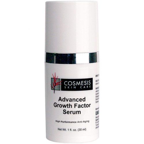 Advanced Growth Factor Serum Cosmesis Skin Care 1 fl oz for high performance skin rejuvenation