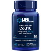 Super-Absorbable CoQ10 Ubiquinone with d-Limonene 100 mg for heart health & healthy brain function